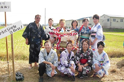 吉川盆踊りメンバー